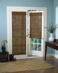 ... Blinds, Blinds For French Doors Roman Shades For French Doors Double  French Door With Natural ...
