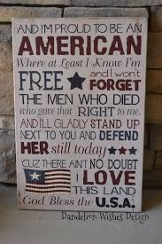best american flag meaning ideas folded  12x18 proud to be an american subway art sign for 4th of or flag day
