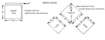 wren bird house plans. Wren House Plans Current Print Bird O