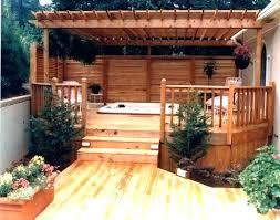 outdoor patio screens. Privacy Walls Outdoor Patio Wall Deck Ideas Screen Best Hot Tub On For Screens