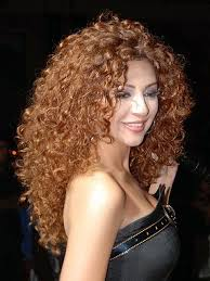 y long curly hairstyle for women