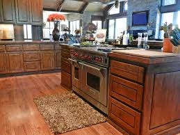 Rustic Kitchen Floors Rustic Kitchen With Raised Panel Hardwood Floors In Payson Az