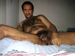 Hairy arab men naked