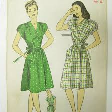 1940s Dress Patterns Magnificent Best 48s Dress Patterns Products On Wanelo