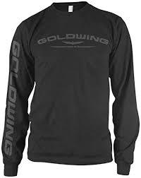 Amazon Honda Mens Automotive Long-sleeve com Shirt Goldwing