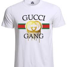 Gucci Men S Shirt Size Chart Lil Pump Gucci Gang Esketit Mens Unisex T Shirt Nwt