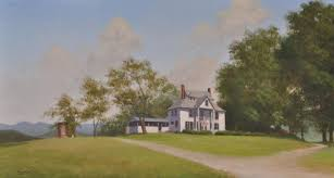 gallery of old houses churches and barn paintings