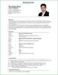Sample Job Application Resume 100 Curriculum Vitae Sample Job Application applicationsformat 12