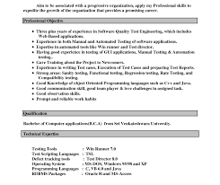 Resume In Ms Word Format Resume Profile Statement Examples