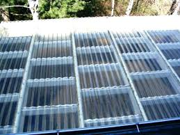 image of clear roofing panels acrylic corrugated plastic sheets