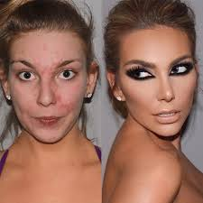 after you have a look at these before and after makeup looks you will never doubt the fact that magic exists what is more you can master it as well