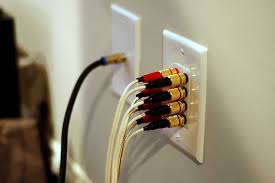 Image result for cords plugged into wall plates