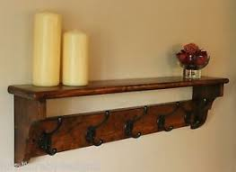 Antique Wooden Coat Rack Victorian Coat Rack Hand Made From Reclaimed Pine with Vintage Coat 95