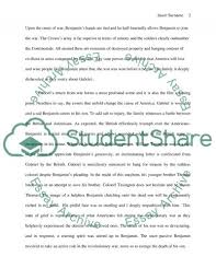 the patriot movie review essay example topics and well written  the patriot movie review essay example