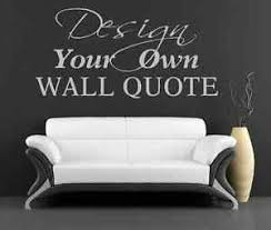 image is loading personalised vinyl wall art sticker decal design your  on design your own wall art stickers uk with personalised vinyl wall art sticker decal design your own quote