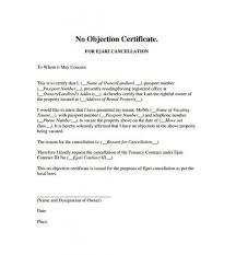 Fresh Noc Letter Format For Popular No Objection Certificate Sample