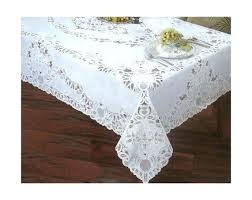 52 x 70 oval vinyl tablecloth lace round clear protector gallery of glamorous inch kitchen amusing