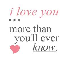 Quote Of I Love You