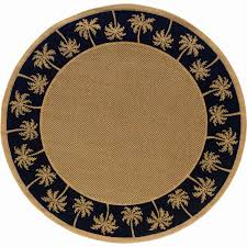 item item oriental weavers lanai 7 10 ft round indoor outdoor rug