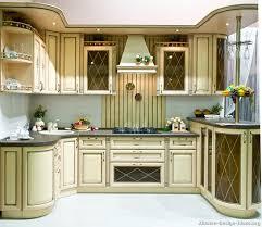image of white design vintage kitchen cabinets
