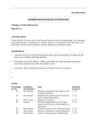 human resources associate job description hashdoc human resource associate job description