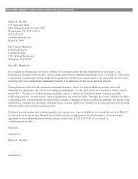 Communications Internship Cover Letter Examples Beautiful Journalist
