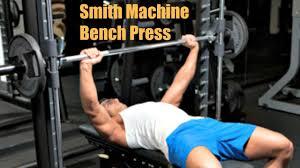 Smith Machine Versus Free Weight Bench A Battle Of Goals  Cooper Smith Bench Press Bar Weight