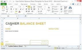 Cash Sheet Template Money Count Best Photos Of Daily Up Free
