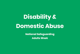 Disability Domestic Abuse Ann Craft Trust