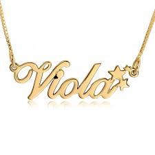 14k gold star name necklace allegro 14k gold name necklaces classic name necklaces name necklaces name necklace