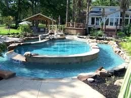 Backyard Oasis Ideas With Pool Small Backyard Pool Design Pool