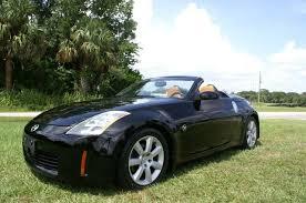 nissan 350z black convertible. 2004 nissan 350z roadster touring 350z black convertible