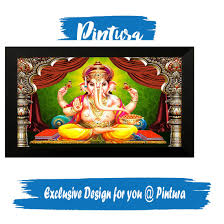 Pintura Design Master Pintura Lord Ganeshadesigner Painting Wall Decor Home