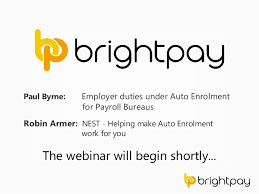 Brightpay Employer Duties Under Auto Enrolment For Payroll Bureaus