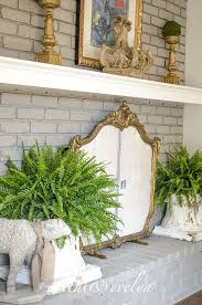 diy fireplace screen. DIY French-style Fireplace Screen (via Edithandevelynvintage.com) Diy