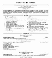 47 Protective Services Resume Examples In Idaho Livecareer