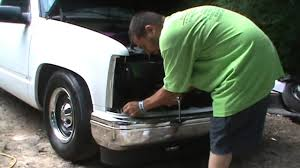 Truck 98 chevy truck parts : Bumper Filler Install 88-98 OBS Chevrolet & GMC trucks - YouTube