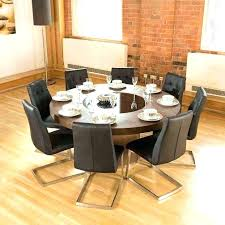 what size round table seats 8 kitchen table seats 8 full size of dinning round dining