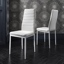 Laura James Glass Esstisch Set Und 4 Stühle In Weiß