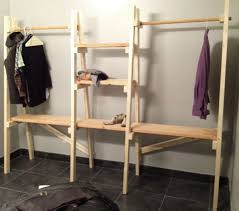 loft build out freestanding closet dream home intended for free standing inspirations 2