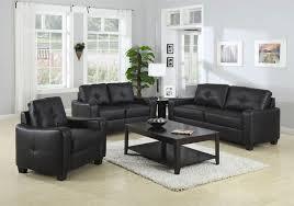 coaster jasmine 50271 sofa group black leather sofa
