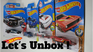 UNBOXING HOT WHEELS '10 Camaro SS, Plymouth AAR Cuda and more ...