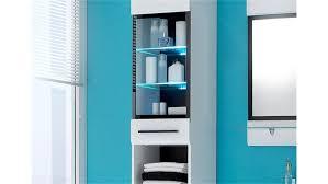 Badezimmer Hochschrank Mit Integriertem Wäschekorb Badregal Bambus