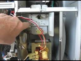 replace the magnetron in the spacesaver ge microwave dv