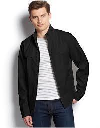 black military jackets michael michael kors michl michl kors freedom lighweight field jacket