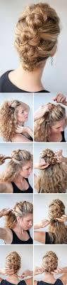 Easy Hairstyles For Medium Length Hair Afmunet