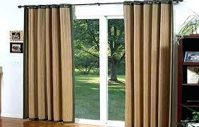door curtains ideas sliding glass doors curtain best of window treatments