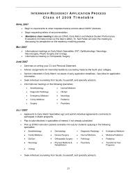 Medical Student Resume Classy Resume Topics Redesigning Your 48 Inspirational Medical Residency
