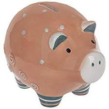 Ganz Ceramic Pig Bank