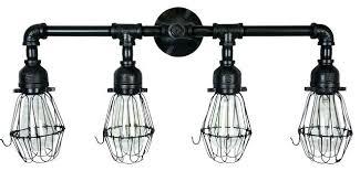 black vanity lighting. Black Vanity Light Lights Era Industrial Bathroom Lighting Iron Fixture .